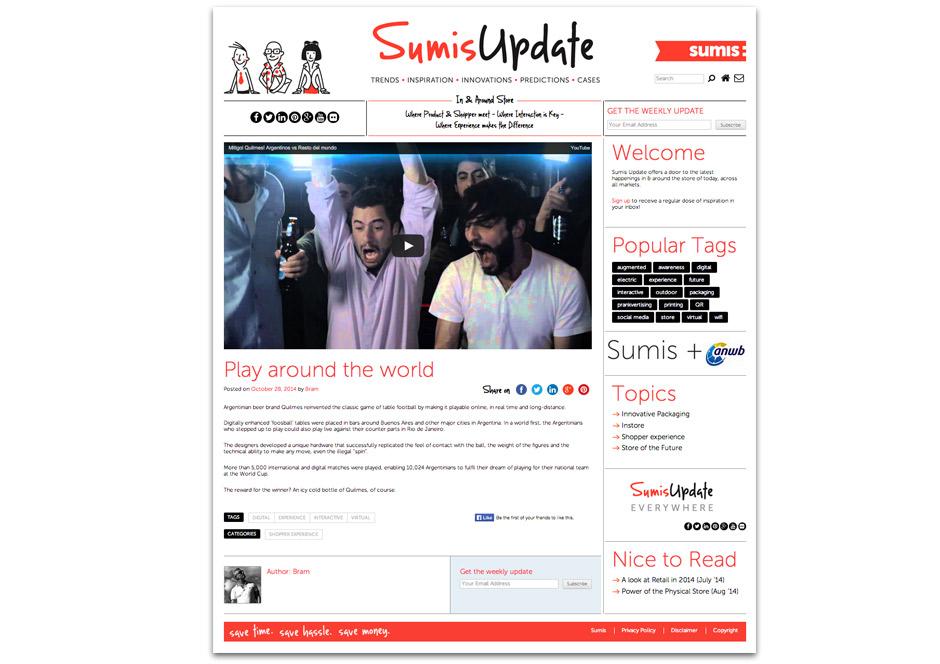 Sumis Update